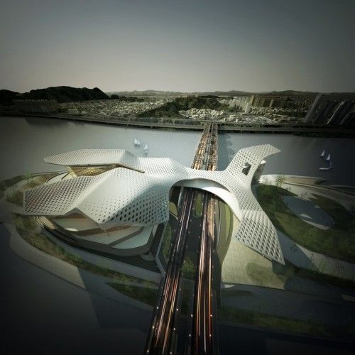 Seoul Performing Arts Centre | dmp Architects - Arch2O.com