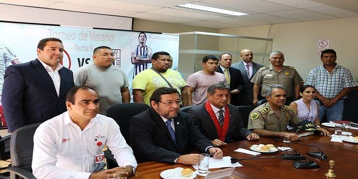 QUINIENTOS EFECTIVOS POLICIALES MANTENDRÁN EL ORDEN EN EL CLÁSICO DEL FÚTBOL PERUANO