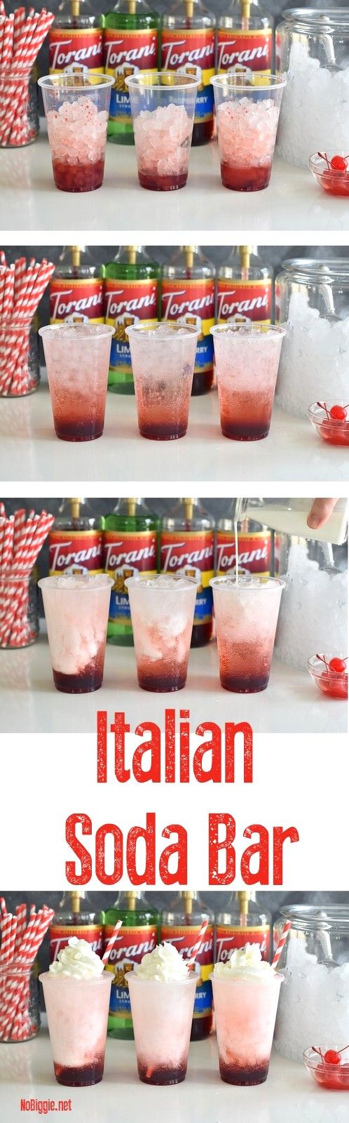 DIY Italian Soda Bar | NoBiggie.net