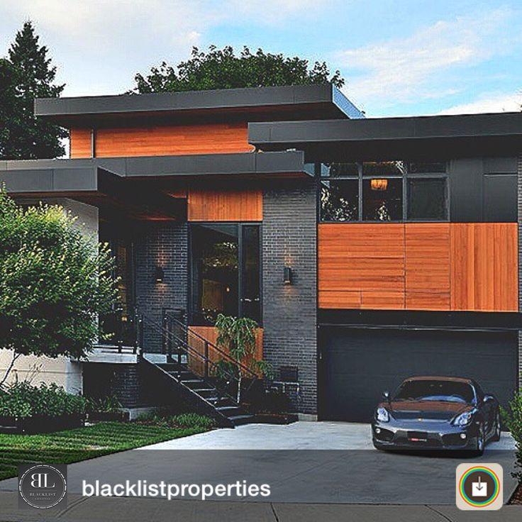 Ohh Black Perfect. House DesignHouse ExteriorsForest ...