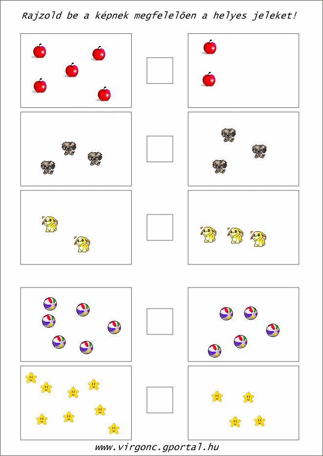 ovis matek-több/kevesebb(2db) - Képtár - G-Portál