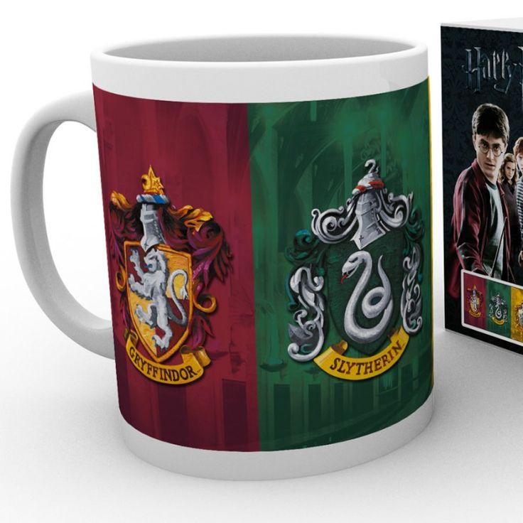 Mug 4 case di Hogwarts