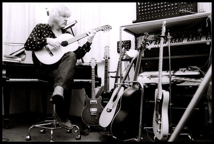 Edgar Froese guitars 1979 - R.I.P.