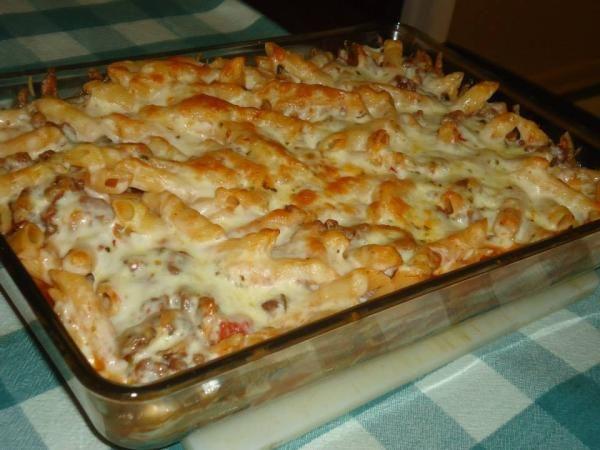 Da prste pojedeš: Zapečene makarone sa mljevenim mesom i šampinjonima ~ Mala kuhinja - Veliki Užitak