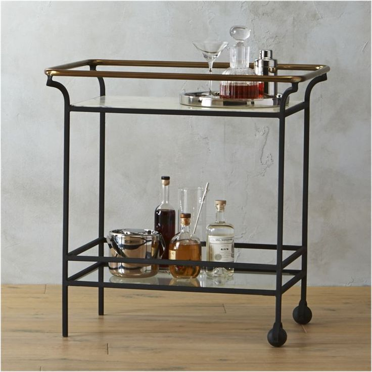 Cb2 Mid Century Coffee Table: 17 Best Ideas About Vintage Bar Carts On Pinterest