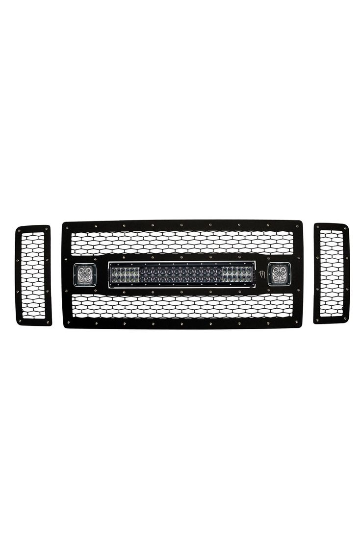 Rigid Industries Grille Guards at www.HeadWestOutfitters.com #aftermarket #truck #parts