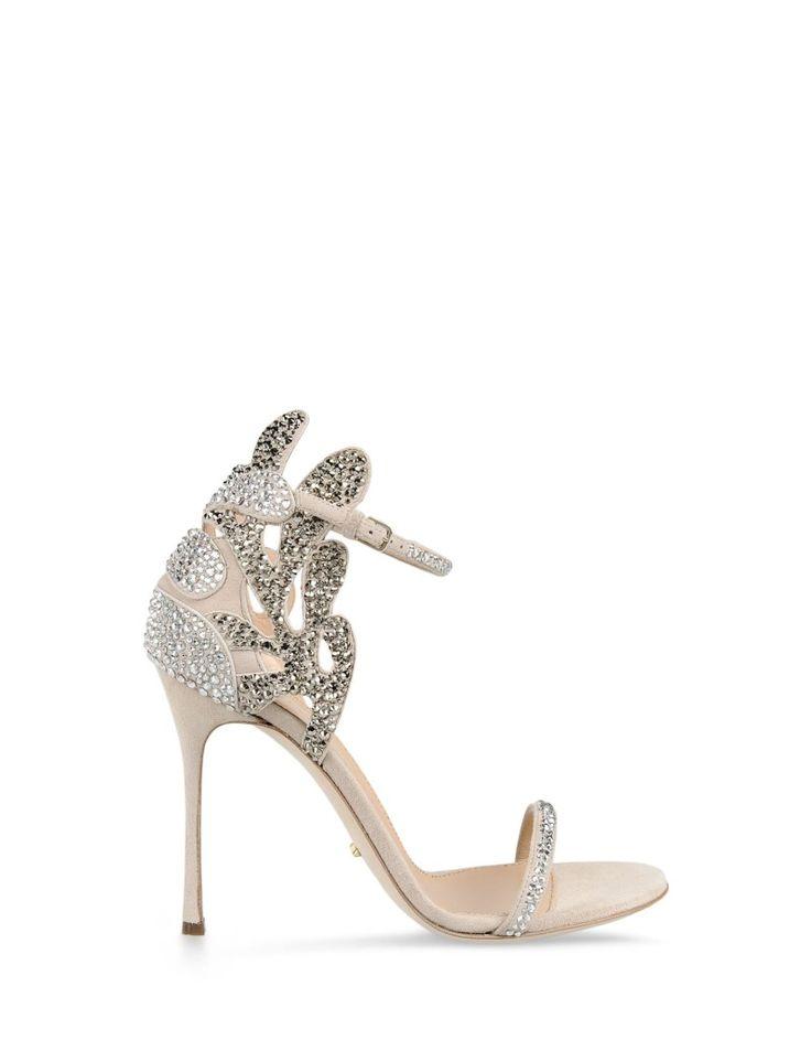 scarpe da sposa luccicanti