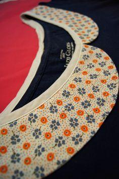 col claudine à rajouter sur n'importe quel t-shirt ou blouse
