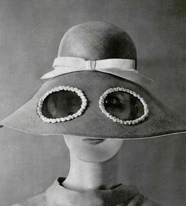 Hat or sunglasses?... Jean Patou, 1967                              …