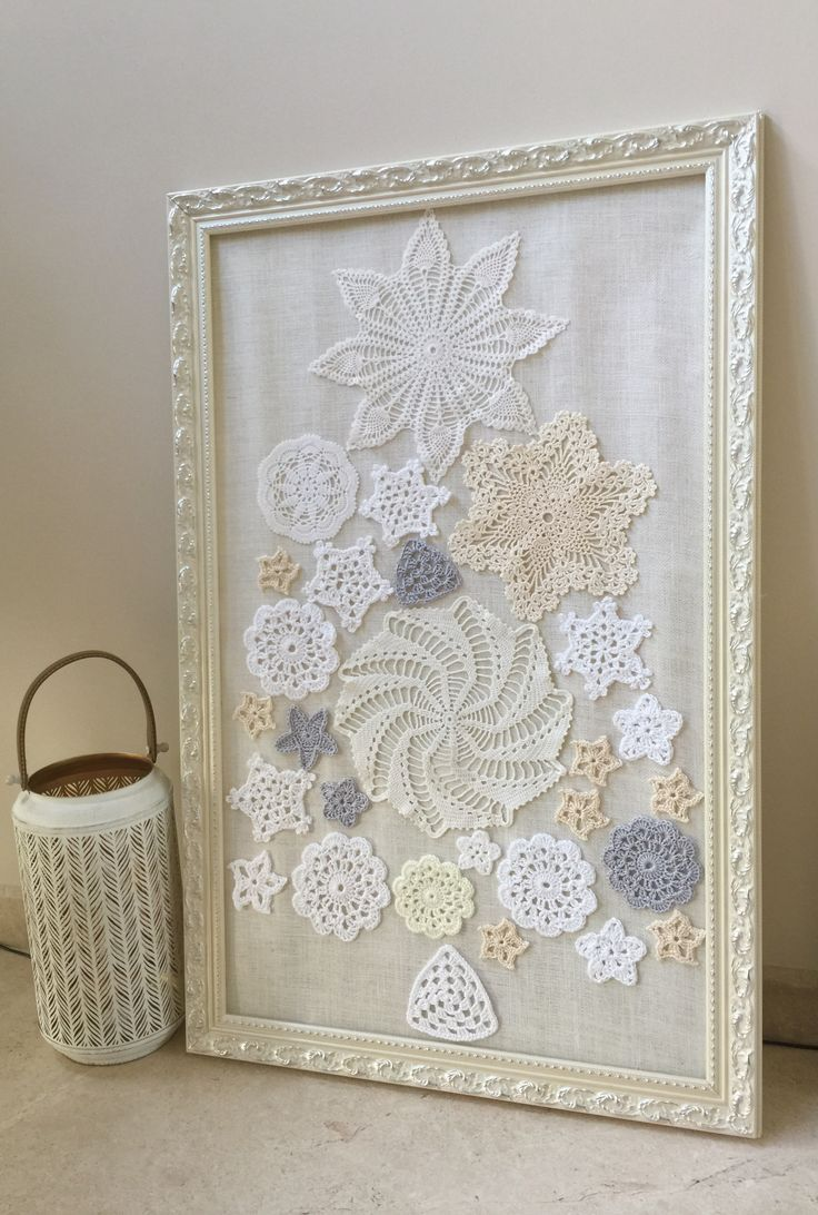 I Love Using Old Dollies To Make Wall Art Crochet Wall Art Doily Art Doilies Crafts