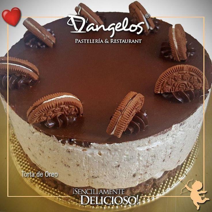 La mejor cremita... En el mes del #amor y la #amistad celebra con una #Torta de Oreo con el sabor #SencillamenteDelicioso de D'angelos.  Encargos en nuestro perfil y en nuestros establecimientos puedes degustar una rica porción.  #oreo #chocolate  #pasteles  #tortas  #postres  #desserts  #cake  #cupcakes #instafood  #sweet  #love #celebraciones  #cumpleaños  #Guayana  #puertoordaz #soypuertoordaz  #quehayenpuertordaz