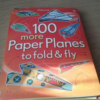 Mama are blog: Activități pentru copii Usborne: avioane de hârtie