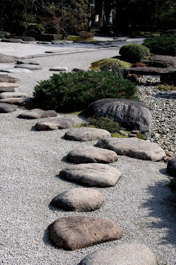 出雲流庭園、出雲屋敷(旧江角邸)、石庭 [Google Translate: Izumo stream garden, Izumo house dressing (Old River Kok Di), rock garden]