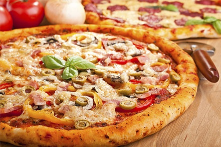 Weigh-Less Online - Bacon And Olive Pizza