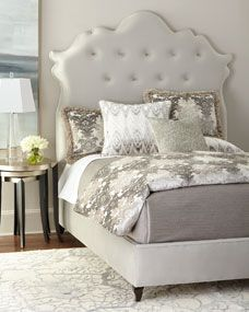 Haute House Arabella Tufted California King Bed and Matching Items