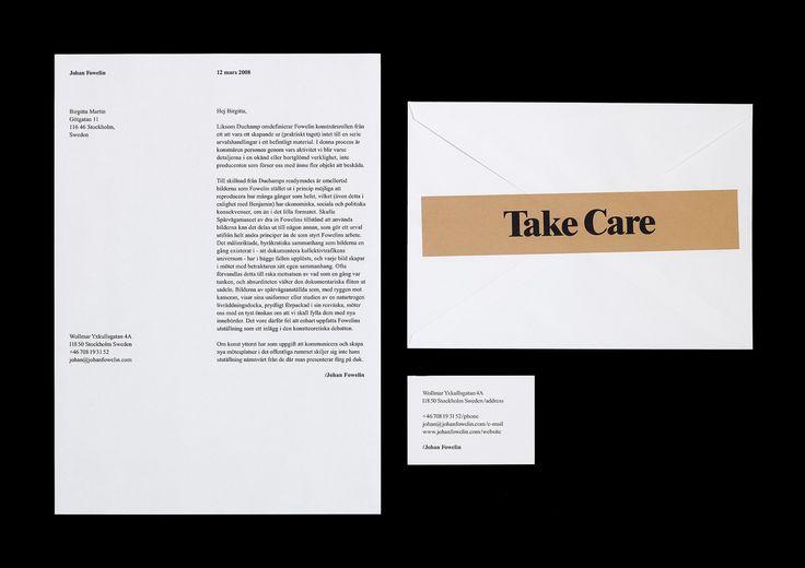 Johan Fowelin by Henrik Nygren—Design