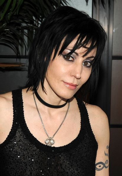 Joan Jett's signature shag saw a revival in 2010—and not just because of Kristen Stewart's commitment to the look for the feminist flick The Runaways. The kohl-eyed rock star leaves audiences enraptured, thanks to her fearless vocal style and plenty of fiercely intimate eye contact.