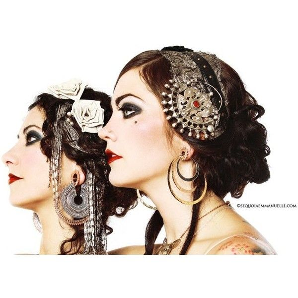 Tribal Fusion Makeup -- pictures and techniques - Page 2 - Belly Dance Forums found on Polyvore
