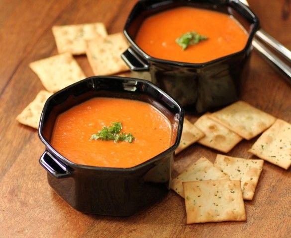 No Cream Creamy Tomato Soup