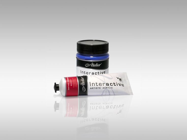 Atelier Interactive 80ml tube and 250ml jar