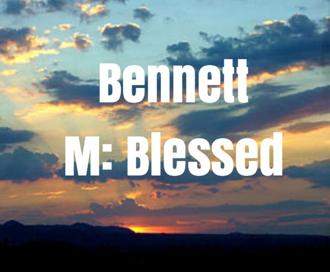 """Latin origin meaning """"Blessed."""" Similar name is Beckett ..."""