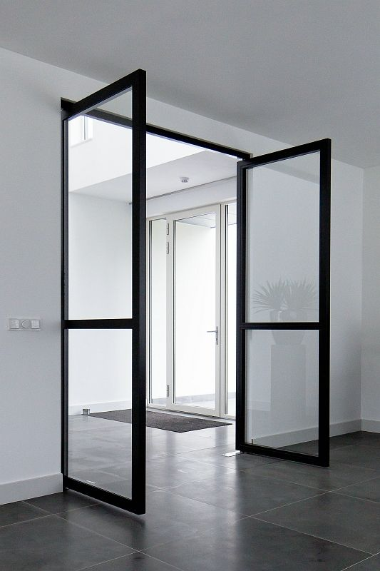 25 beste idee n over zwarte deuren op pinterest zwart for Deuren specialist