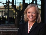'Desktops are not dead,' says HP's chief CEO Meg Whitman touts Hewlett-Packard's ability to offer a wide range of computing devices -- and teases a laptop-tablet combo coming for consumers.