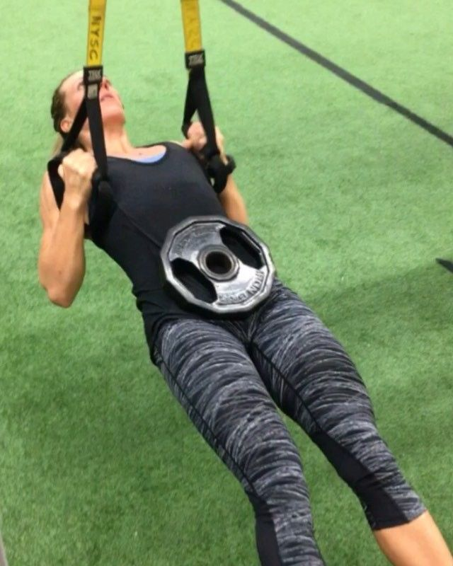 Lindsays Tuesday & Circuit Full Workout In Caption All Of Our Programs: #digintobody Circuit 0A. 8/Side Weighted Single Leg Squat to 12 Box 0B. 8 Weighted & Elevated TRX Row 0C. 8 Weighted Pushups 0D. 12/side Rear Foot Elevated Squat Jump Rest: 20 sec between EX Sets: 5 . Modified Version: 0A. Bodyweight Single Leg Squat onto a higher box/bench or TRX single Leg Squat 0B. TRX row at any angle that is a challenge for 8 reps. Please make sure your motion is controlled the entire time dont just…