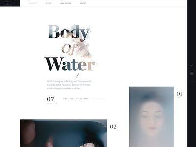 Layout & typography experiment —Ino Zeljak