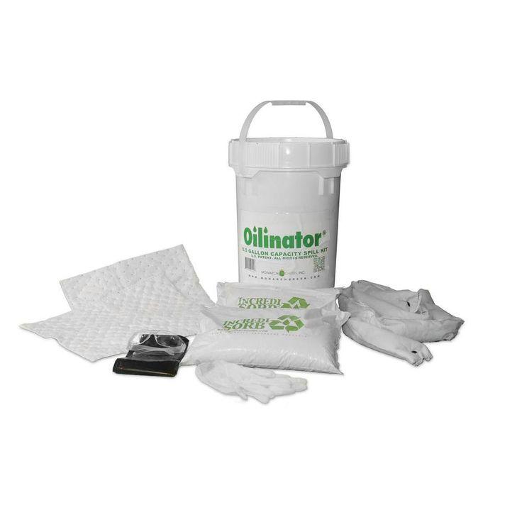 6.5 Gal. Heavy Duty Oil Absorbent Spill Kit