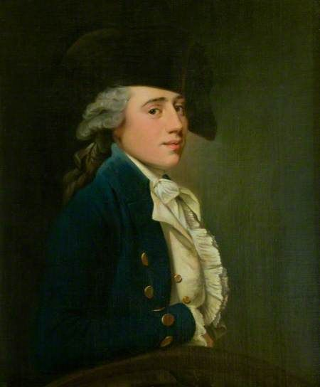 Captain Edward Salmon, by Joseph Wright of Derby, c 1770. National Trust for Scotland, The Georgian House