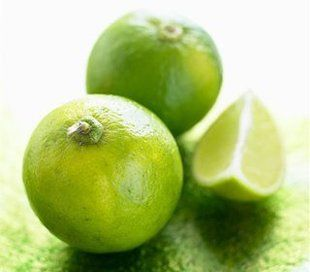 The benefits of limes! Make lime water with organic limes.