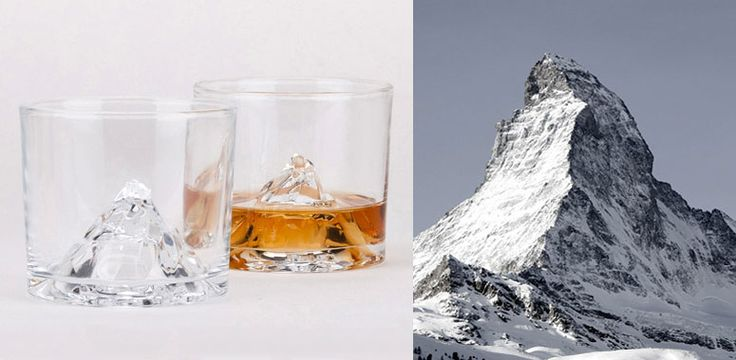 Matterhorn Mountain Glass
