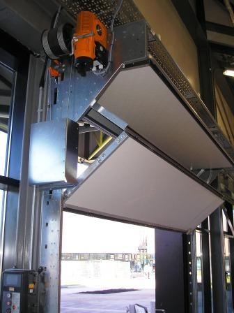 Insulated Fold Up Door & Shutters Specialist | DP Doors & Shutters