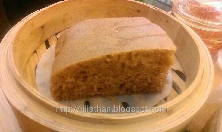 Steam Egg Cake @ Tim Ho Wan, SM Megamall