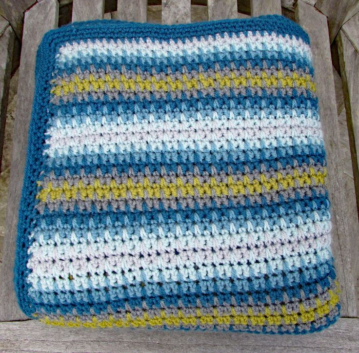 Everything you need to make a lovely retro Campervan crochet throw with a modern edge - perfect for taking on your travels. #crochet #crochetblanket #crochetthrow #crochetafghan