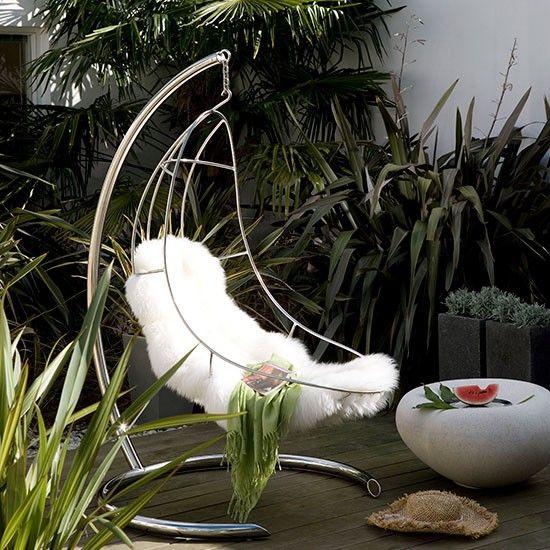 Die besten 25+ Garden swing chair Ideen auf Pinterest - designer hangesessel mit gestell