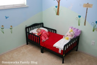 Dreaming in Style with @Wayfair Dream on Me Contemporary toddler bed #NoiseGirls