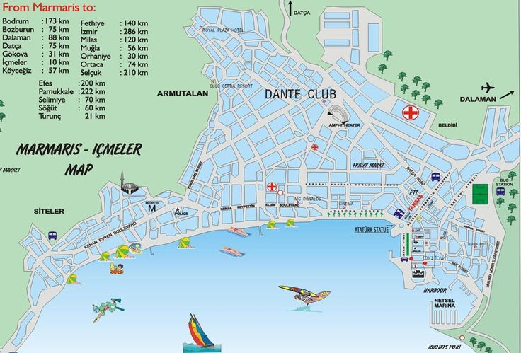 Marmaris Turkey | Marmaris Turkey Map Related Keywords & Suggestions - Marmaris Turkey ...