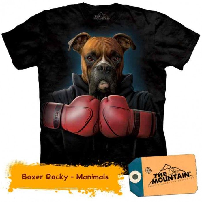 Tricouri The Mountain – Tricou Boxer Rocky