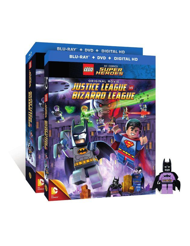 Giveaway: LEGO Justice League Vs Bizarro League Blu-ray/DVD & Mini figurine Ends 2/28