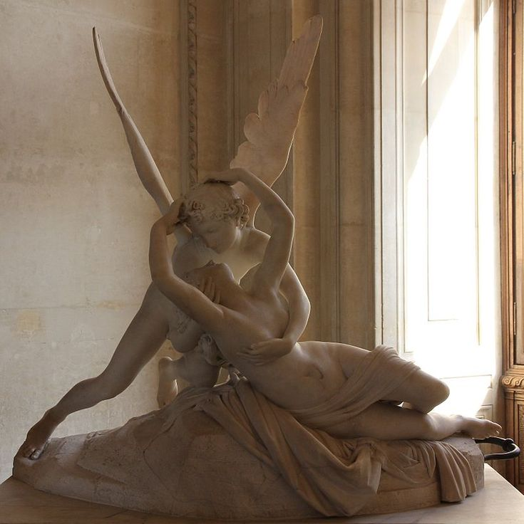 antonio canovas sculpture psyche revived by 2018-7-13 antonio canova 1 november  venus victrix' was originally conceived as a robed and recumbent sculpture of pauline borghese in  psyche revived by cupid's.