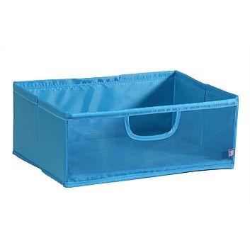 Briscoes - Easi Mesh Storage Box Blue Rectangle