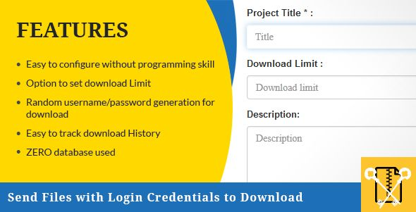 Introduction of PHP script to send files with login credentials to downloadSend Files with Login...