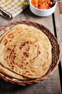 Whole Wheat Lachha Paratha recipe - Whole Wheat Lachooh