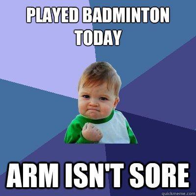 3e2ee2290387c35881269332a6c37f65 9 best badminton meme images on pinterest badminton, memes humor