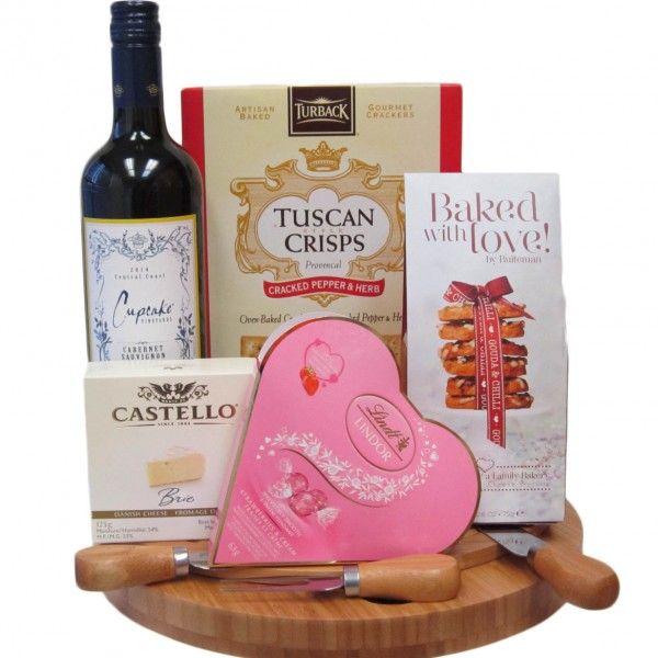 Cupcake Vineyards Valentine's Day Platter