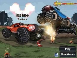 Play the most amazing online truck racing game #Insane_Truckers just at http://game4b.com/online-games/Insane-Truckers