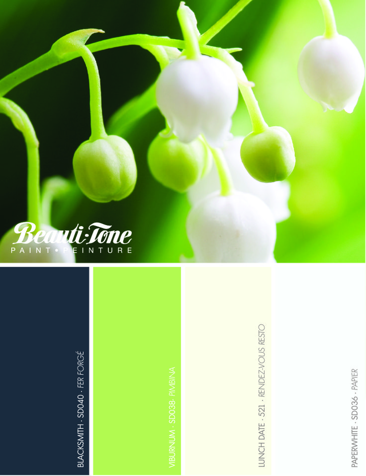 Colour Stylings Inspired From Nature Interpreted By Beautitone For A Gorgeous Spring Palette
