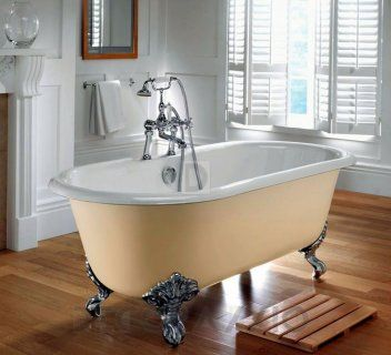 #bathroom #bath #shower #showerroom #interior #design #interiordesign   Чугунная ванна Imperial Bathroom IB Cast Iron Bath Tubs, ib_bentley_double_ended_bath